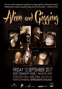 Alive and gigging flyer image
